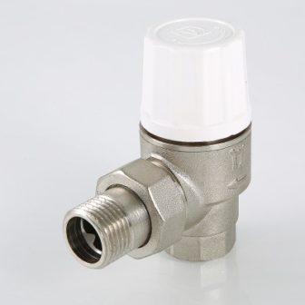 Клапан термостатический повышенной пропускной способности угловой