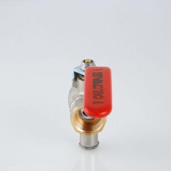 Кран кульовий для підключення датчика температури