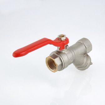 Кран кульовий VALTEC COMBI з вбудованим фільтром