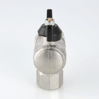 Кран кульовий посилений VALTEC PERFECT кутовий з напівзгином