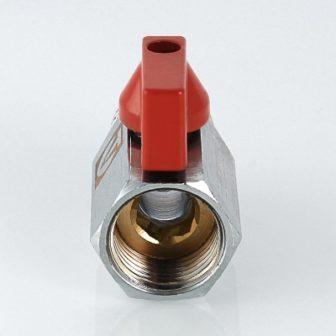 Кран кульовий MINI з внутрішньою/зовнішньою різьбою