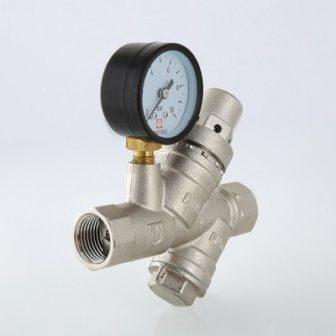 Подпиточный клапан с фильтром механической очистки