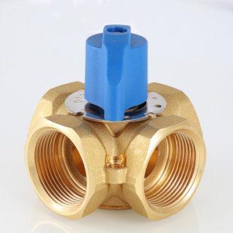 Четырехходовой смесительный клапан