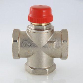Триходовий термостатичний змішувальний клапан VT.MR01.N