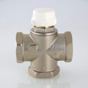 Триходовий термостатичний змішувальний клапан VT.MR03.N