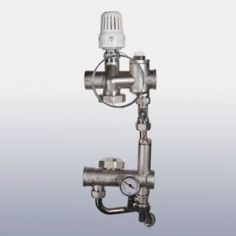 Насосно-смесительный узел для теплого пола VALTEC VALMIX