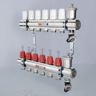 Коллекторный блок со встроенными расходомерами