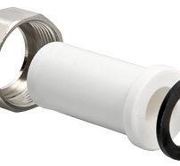 Фитинг полипропиленовый – штуцер с накидной гайкой, внутренняя резьба