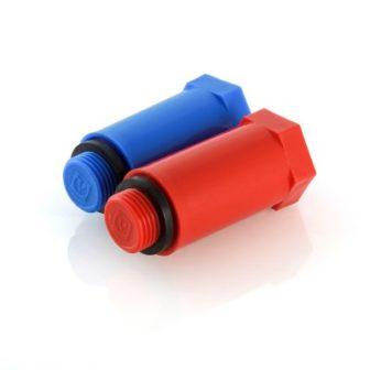 Комплект пробок поліпропіленових з різьбленням довгих